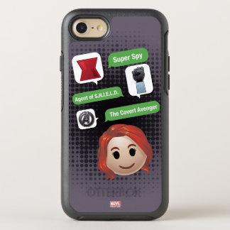 Black Widow Emoji OtterBox Symmetry iPhone 8/7 Case