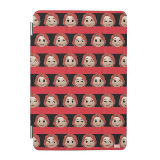 Black Widow Emoji Stripe Pattern iPad Mini Cover