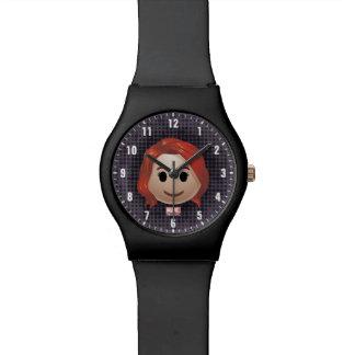 Black Widow Emoji Watch