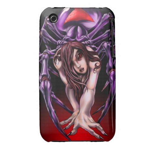 Black Widow iPhone 3 Case