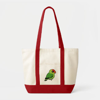 Black-winged Lovebird Tote Bag