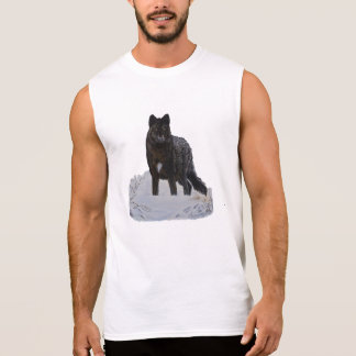 Black Wolf Sleeveless Shirt