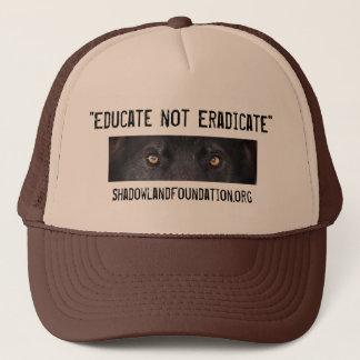Black Wolf Trucker Hat