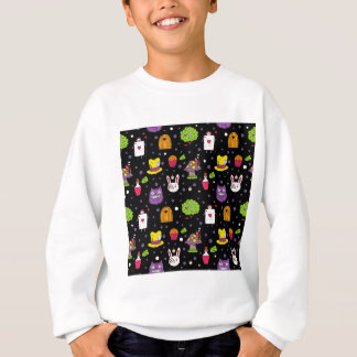 black Wonderland Sweatshirt