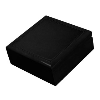 Black Wooden Gift Box