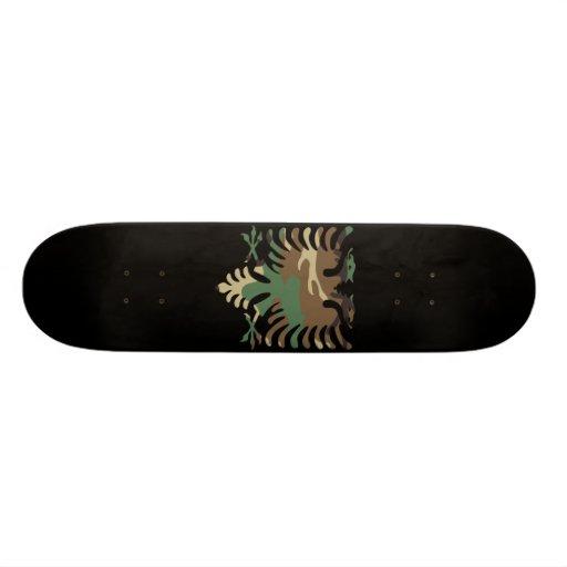 Black Woodland Albanian Eagle Skateboards