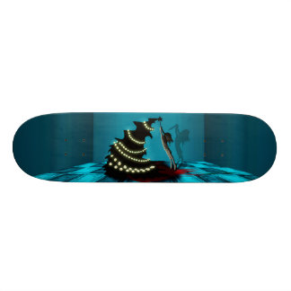 BLACK XMAS: Decorating the Christmas Tree 21.6 Cm Skateboard Deck