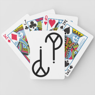 Black Y? Symbol Playing Cards