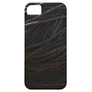 Black Yarn iPhone 5 Cover