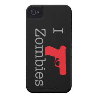 Black Zombie Berry iPhone 4 Case