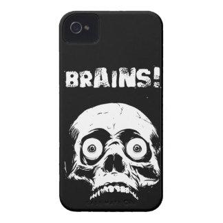 Black Zombie Brains iPhone 4 4s Case Romero Style