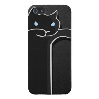 Black Zombie Cat Case iPhone 5 Cover