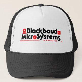 Blackbaud MicroSystems clean trucker hat (black)