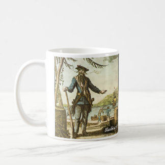 Blackbeard Historical Mug