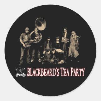 blackbeards teas party sticker