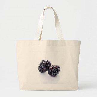 Blackberries Cloth Shopping Bag