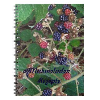 Blackberries note book jams of prescriptions