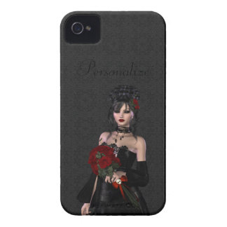 BlackBerry Bold Beautiful Gothic Bride iPhone 4 Case-Mate Cases