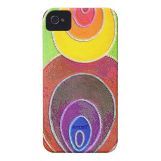 Blackberry Bold Case Rainbow Spirals