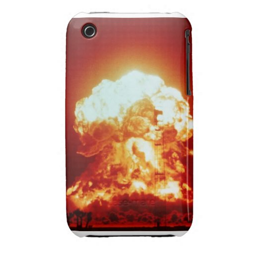 "BlackBerry Bold Cover ""Nuclear Fireball"""