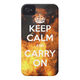BlackBerry Bold Keep Calm On Fire Case-Mate Blackberry Case