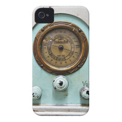 Blackberry bold phone case retro radio photograph blackberry bold case
