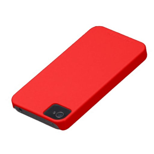 Blackberry Bold red color iPhone 4 Cases