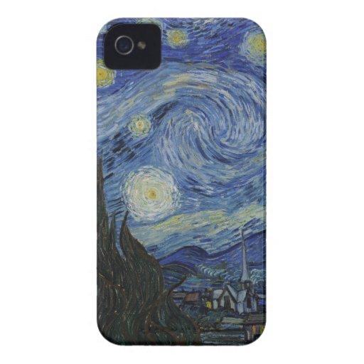 BlackBerry Bold Starry Night Case Case-Mate Blackberry Case