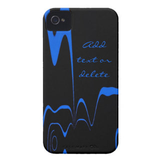 Blackberry Case Blue Flash