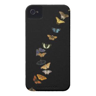 Blackberry case - Butterflies