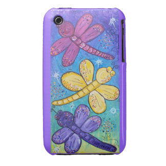 Blackberry Case-Dragonflies at play