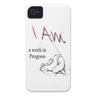 BlackBerry case, I am a work in Progress iPhone 4 Cover