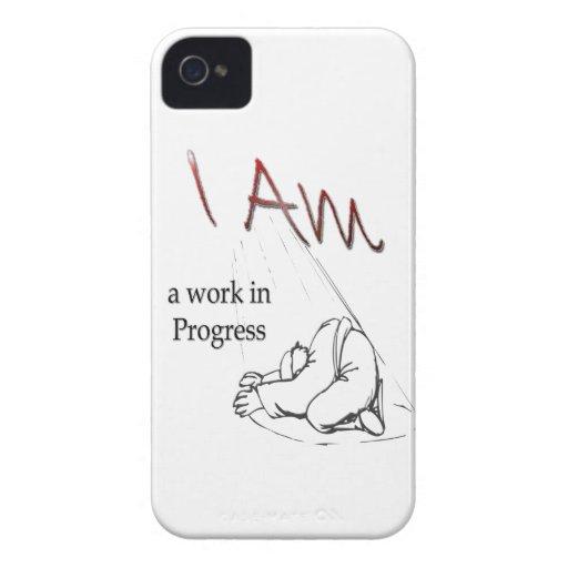 BlackBerry case, I am a work in Progress