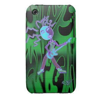 Blackberry Case- Rock It Neon Green