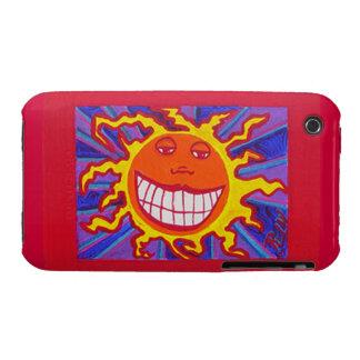 Blackberry Case-Smiling Sunshine iPhone 3 Case