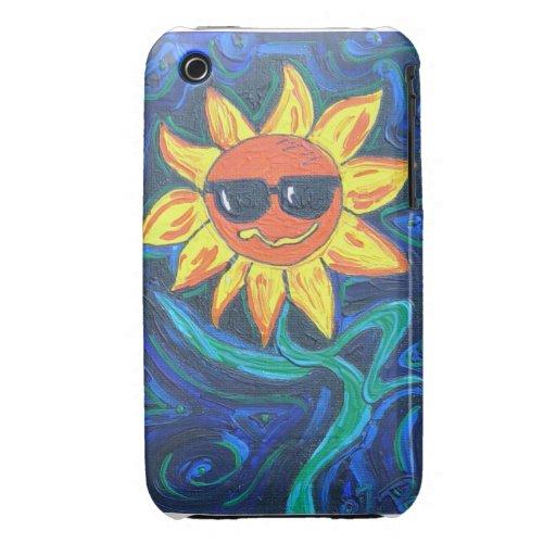 Blackberry Case- Sunny the Sunflower