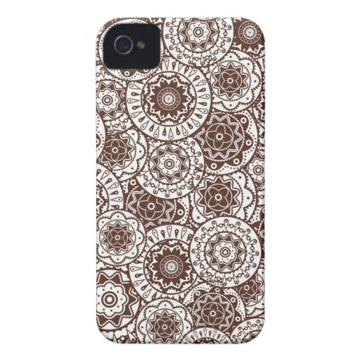 Blackberry  case  with decorative background blackberry bold cover