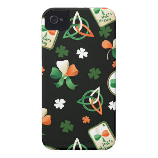 Blackberry  case with st. Patrick's patterns iPhone 4 Case-Mate Cases