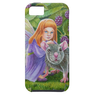 Blackberry Fairy and Pet Mouse iPhone 5 Covers