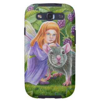 Blackberry Fairy and Pet Mouse Samsung Galaxy S3 Cases
