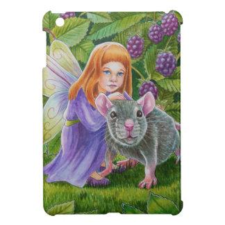 Blackberry Fairy and Pet Mouse iPad Mini Cover