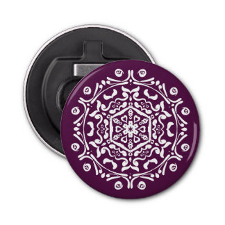 Blackberry Mandala Bottle Opener