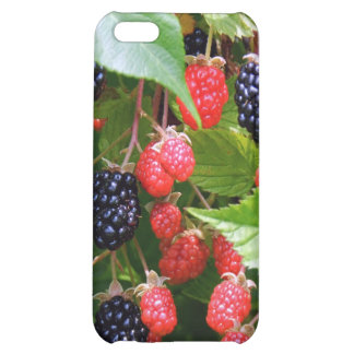 Blackberry Patch Cover For iPhone 5C