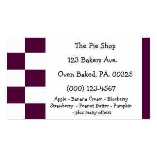 Blackberry Pie Colors Pack Of Standard Business Cards