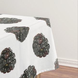 Blackberry. Polka dots. fruits pattern. Tablecloth