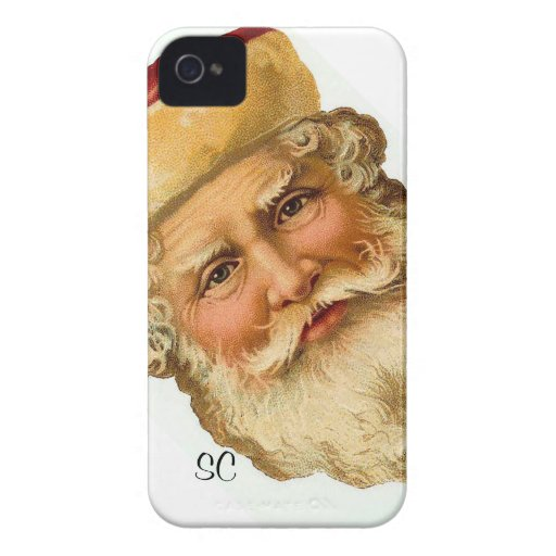 Blackberry - Vintage Santa Claus illustration Blackberry Cases