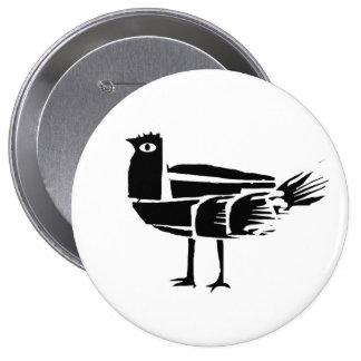 *BlacKbird* 10 Cm Round Badge