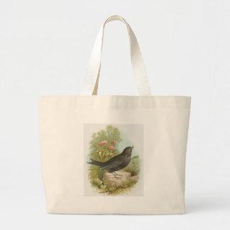 Blackbird Canvas Bags
