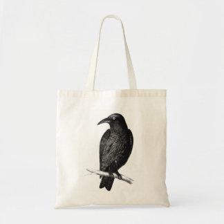 Blackbird Crow Animal Tote