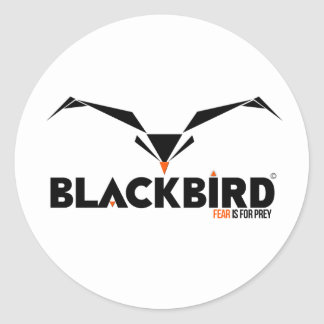 BlackBird Fear is for Prey Sticker